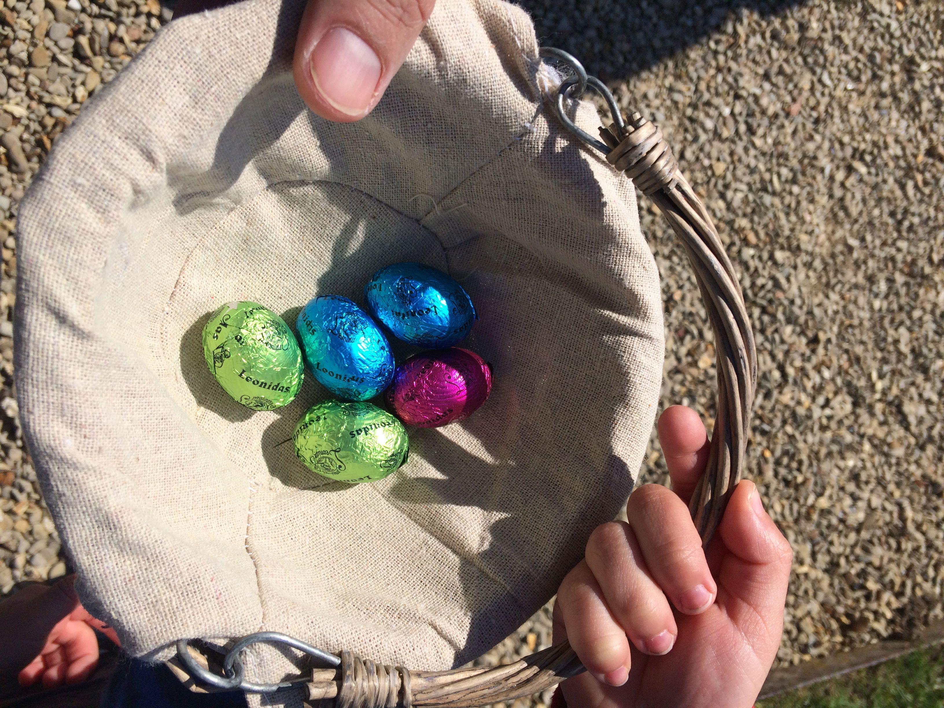 Chasse aux oeufs Pâques